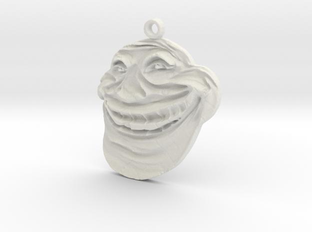 Internet Troll in White Natural Versatile Plastic