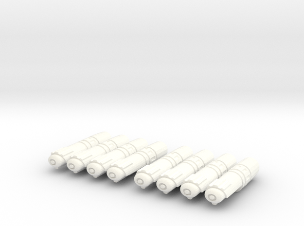 Nacelles Pack of 8 3d printed