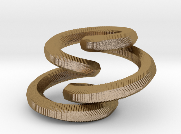 Looping Pendant 3d printed