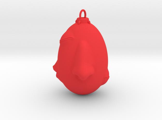 Berserk behelit pendant in Red Processed Versatile Plastic