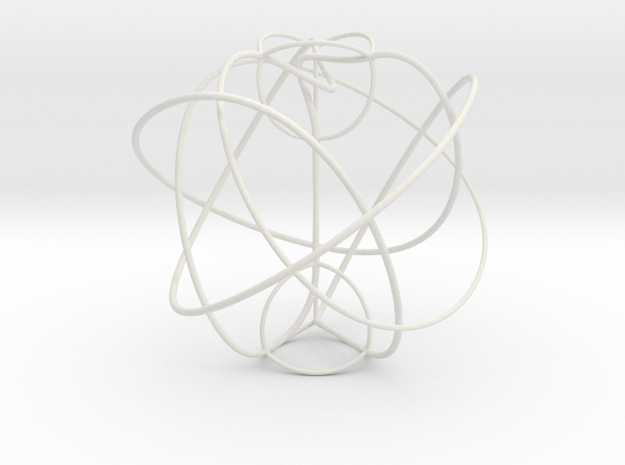 Berge's Cosmetic Tangle 3d printed