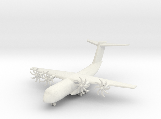 1/285 (6mm) A400 Grizzly  in White Natural Versatile Plastic
