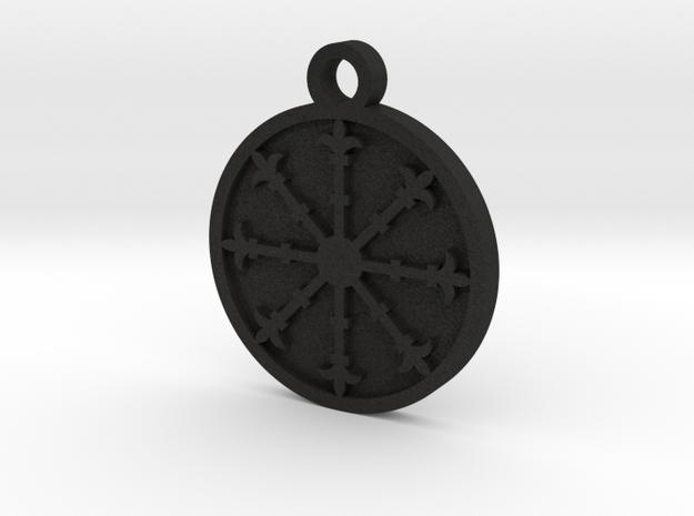 Escarbuncle Pentacle 3d printed