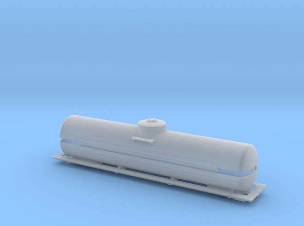 Fuel Tender Parts - Zscale 3d printed