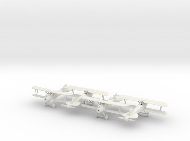 1/144 Albatros D.III x4 in White Natural Versatile Plastic
