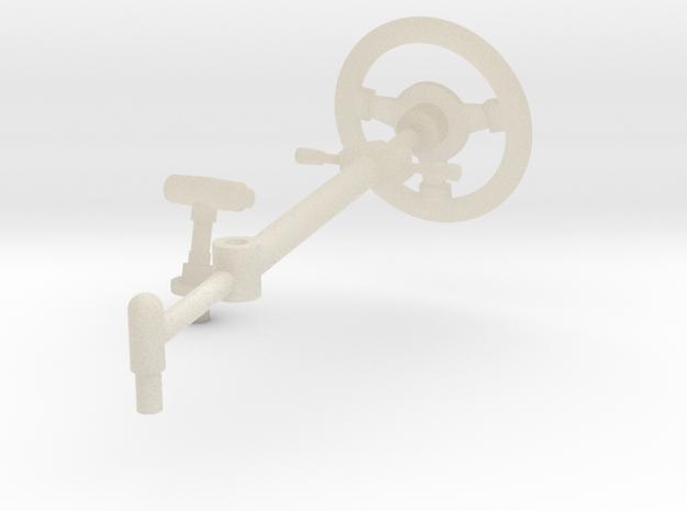 SR40007 Beach Buggy Steering Wheel in White Acrylic