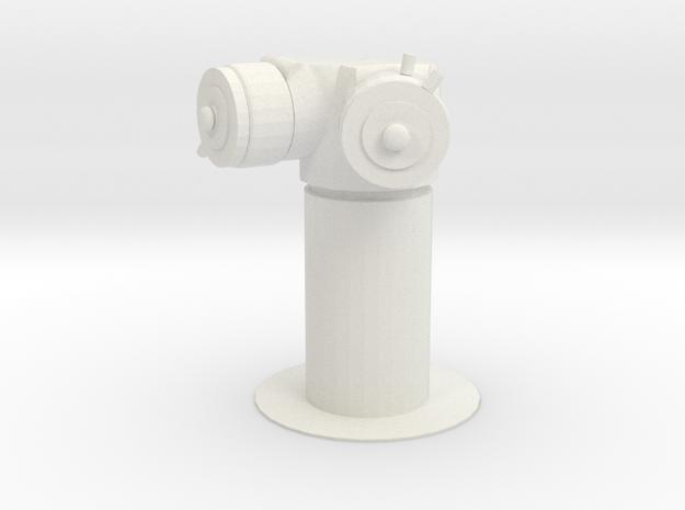 NYC Standpipe in White Natural Versatile Plastic