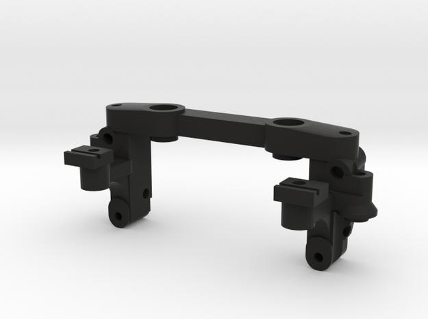 Reactive A-arm mount v3 for Mini-z MR03 in Black Natural Versatile Plastic