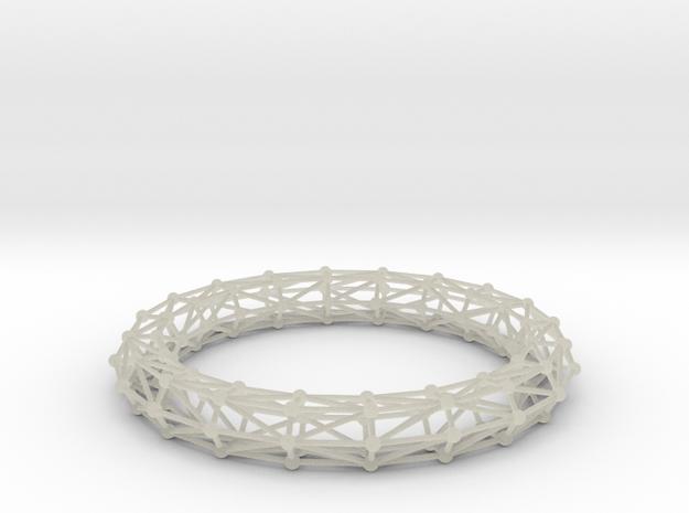 Bangle Bracelet Lattice 3d printed