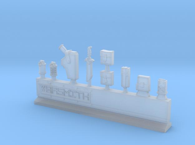 Equipment Sprue in Smooth Fine Detail Plastic
