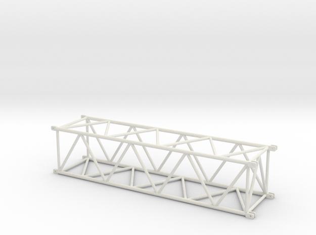 TC2800 Maststueck 12m in White Natural Versatile Plastic
