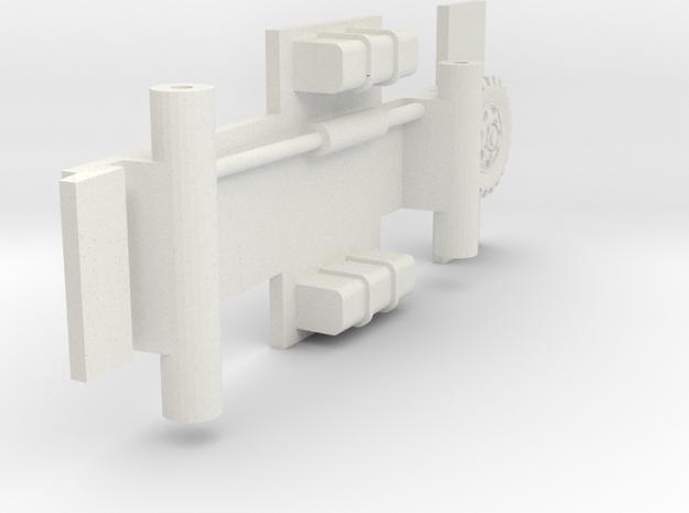 Bellewagen Bodem 1op87 in White Natural Versatile Plastic