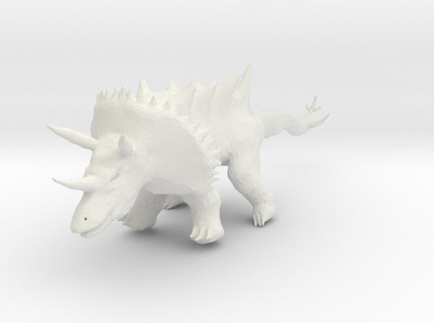 Rhino_dragon 3d printed