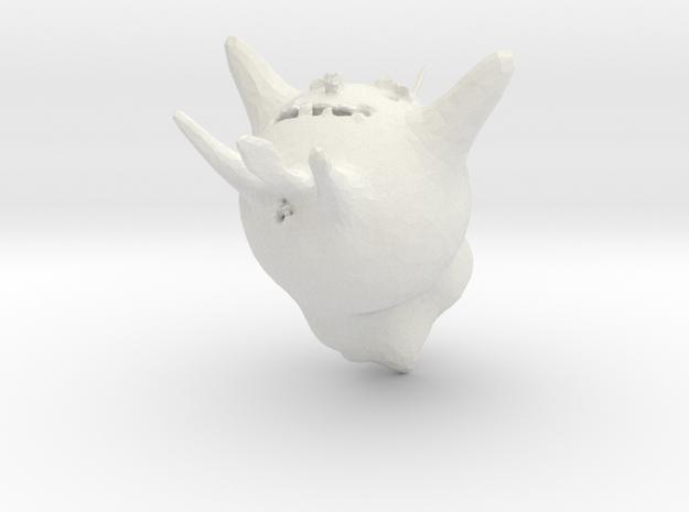 weirdhead 3d printed