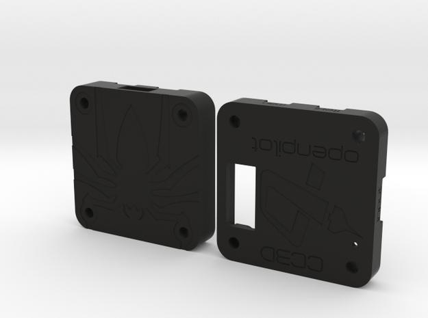 OpenPilot CC3D Case in Black Natural Versatile Plastic