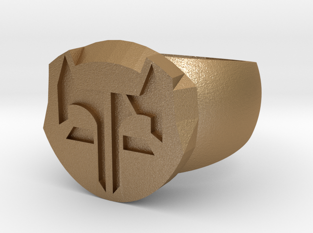 Fox Ring2untitled 3d printed