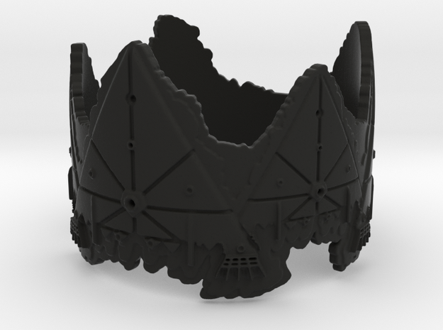 Cloud Ships 2, Ring Size 14 3d printed