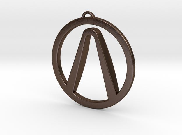 Borderlands Symbol Pendant 3d printed