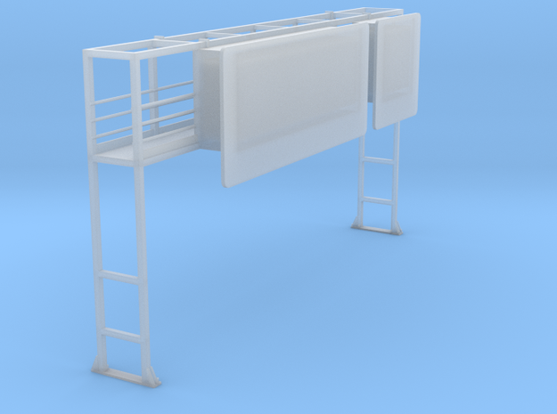 Schilderbrücke Für Diorama.stl in Smooth Fine Detail Plastic