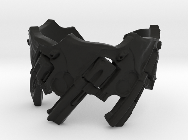 Model 5-357 Revolvers, Ring Size 6 3d printed