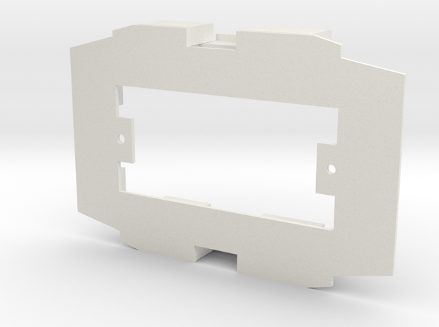 d-1-32-Simplex-baseplate-lima in White Strong & Flexible