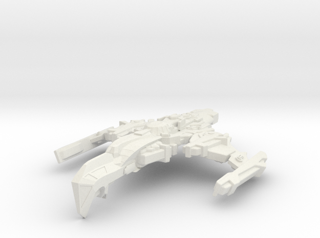 Starglider Class Cruiser in White Strong & Flexible