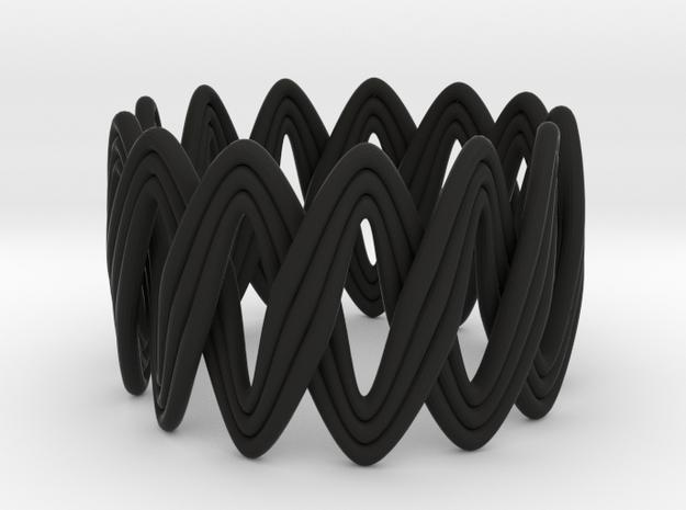 Turk's Head Knot Ring 2 Part X 13 Bight - Size 7 3d printed