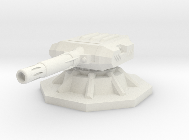 Gauss Turret 6mm 3d printed