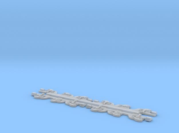 NZ120 KIWIRAIL DL CLASS Bogie Sideframes in Smooth Fine Detail Plastic