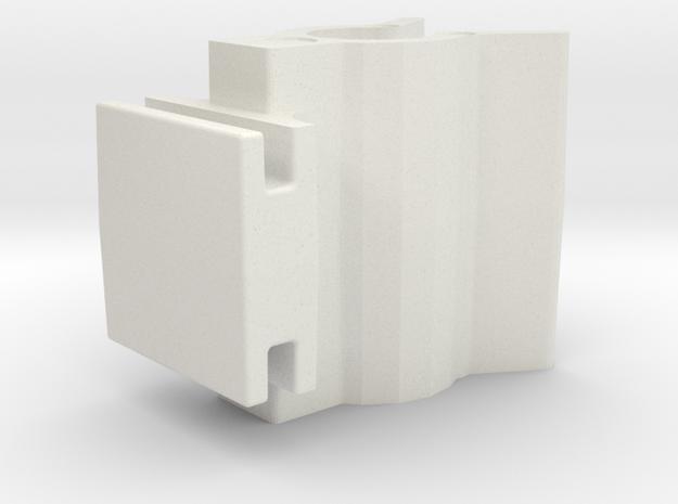 240z Clip in White Strong & Flexible