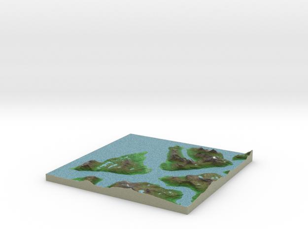 Terrafab generated model Fri Sep 27 2013 12:24:15 3d printed