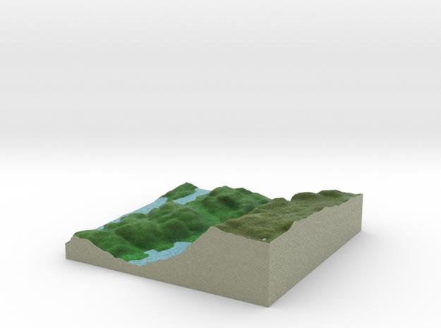 Terrafab generated model Fri Sep 27 2013 13:55:27 3d printed