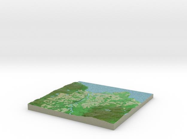Terrafab generated model Fri Sep 27 2013 16:19:09 3d printed