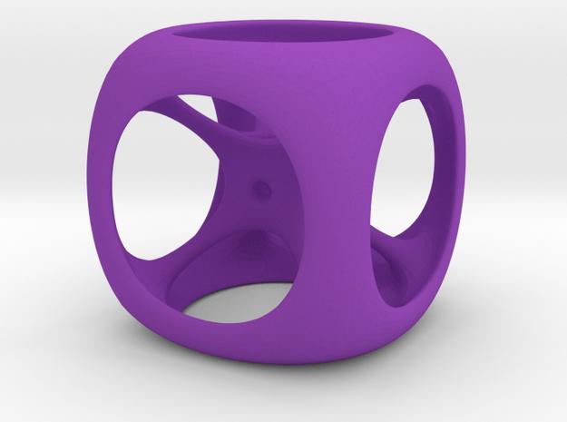D6 in Purple Processed Versatile Plastic