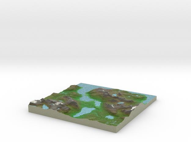 Terrafab generated model Fri Sep 27 2013 18:45:21 3d printed