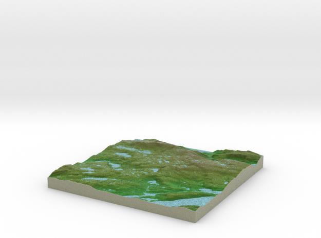Terrafab generated model Fri Sep 27 2013 20:09:17  in Full Color Sandstone