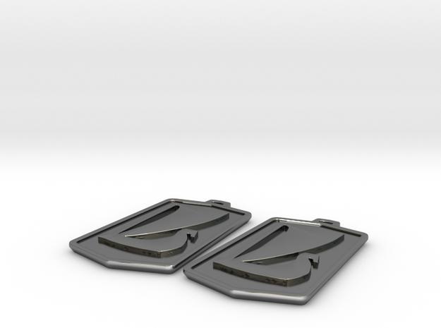 Lada Earrings 3d printed