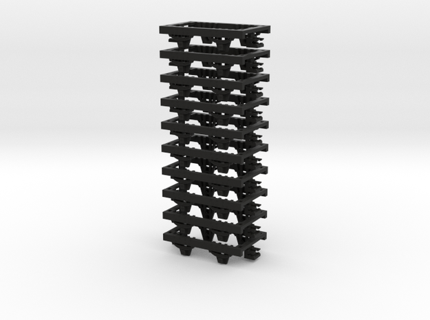 009 Underframe 27mm long NEM pockets 10 pack 3d printed