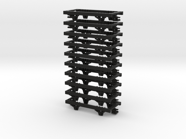 009 Underframe  36mm long NEM pockets 10 pack 3d printed