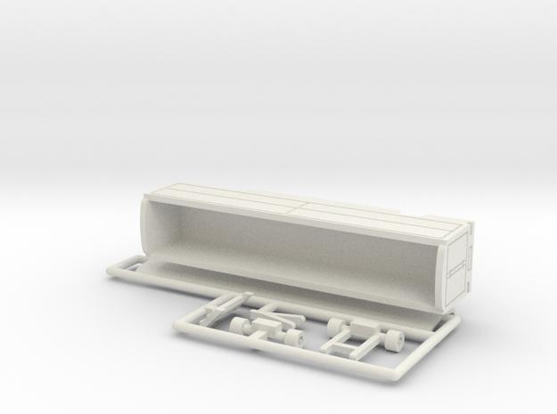 Transport Tonnendachwagen 12 m - 1:160 (n scale) 3d printed