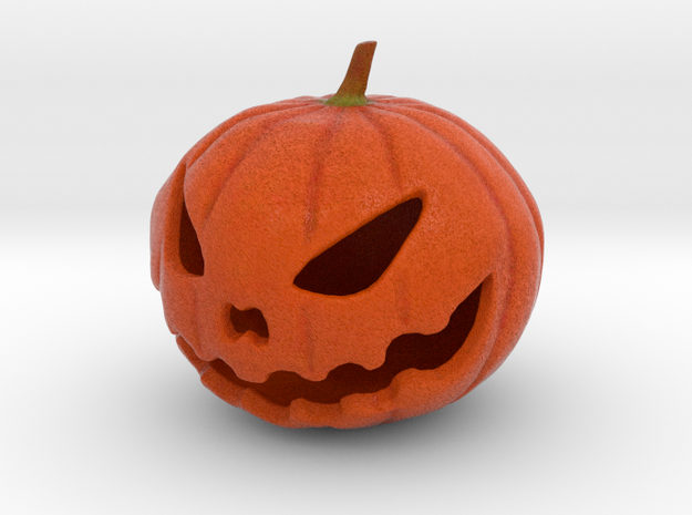 Pumpkin  in Full Color Sandstone