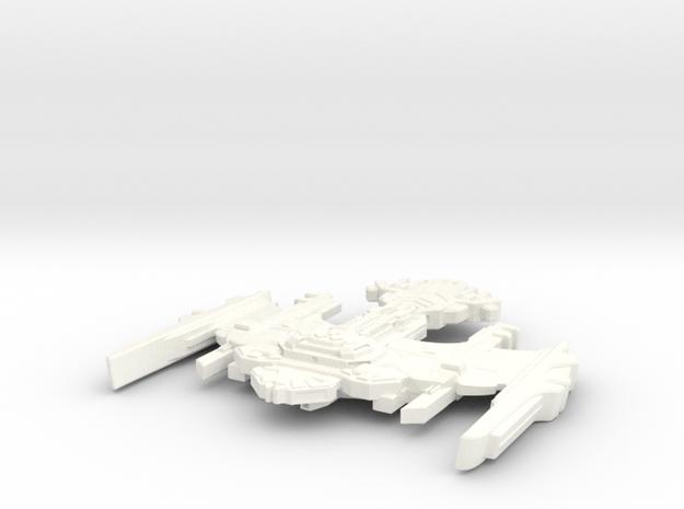 TuBroq Class Klingon Destroyer 3d printed
