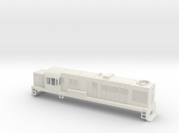 DJ Locomotive, New Zealand, (S Scale, 1:64) 3d printed