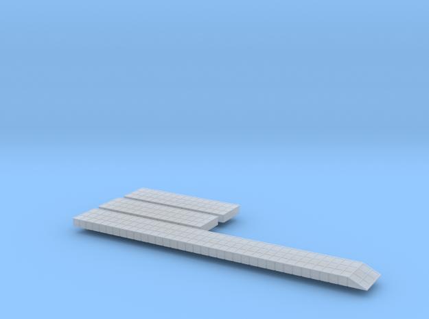 Pontoon Causeways 1/700 Scale 3d printed