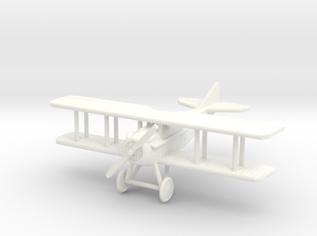 SPAD VII 1:144th Scale 3d printed