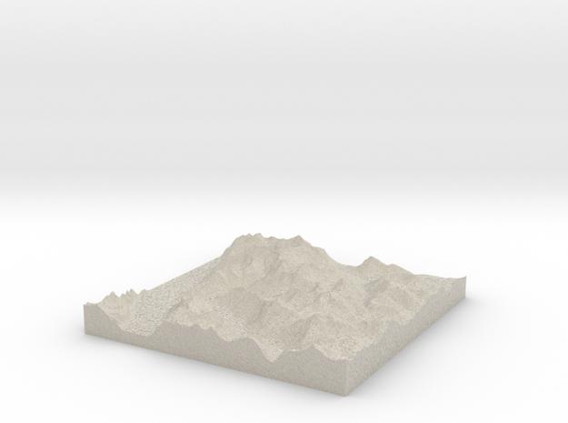 Terrafab generated model Tue Oct 01 2013 10:51:09  3d printed