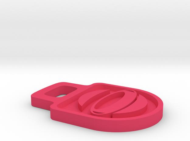 DBO Logo Zipper Tag - Small 3d printed