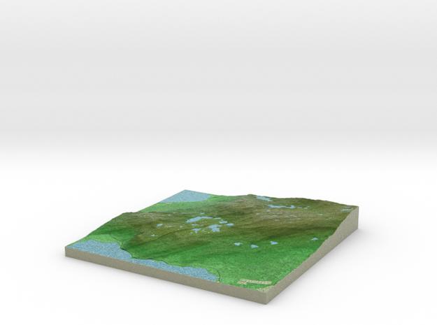 Terrafab generated model Fri Oct 04 2013 13:41:30 3d printed