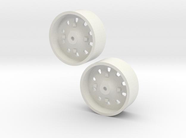 1:64 IH 86 & 88 series rear wheel pair 3d printed