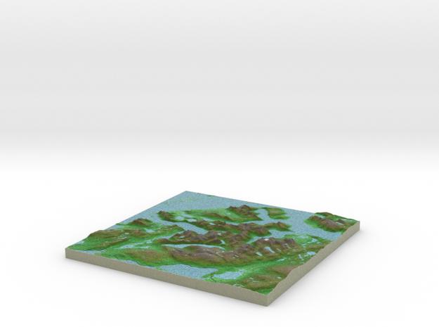 Terrafab generated model Sun Oct 06 2013 12:29:39 3d printed